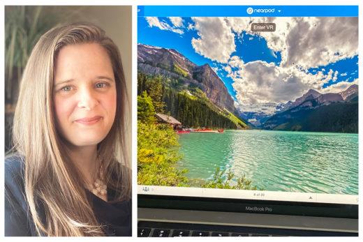 KMD-CS Graduate Uses VR Technology to Enhance Virtual Classroom Language Teaching
