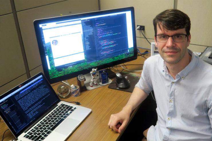 Jack Jamieson Helps Build a More Egalitarian Internet