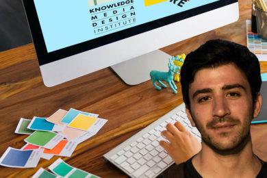 KMDI Work Study Student Tarik Haiga Learns Valuable Job Skills