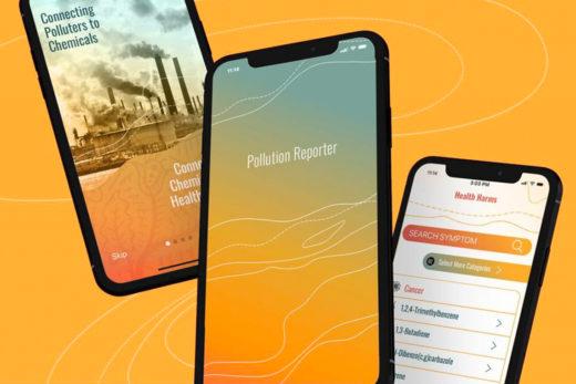 Pollution Reporter Mobile App cover