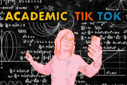 Academic TikTok job post cover