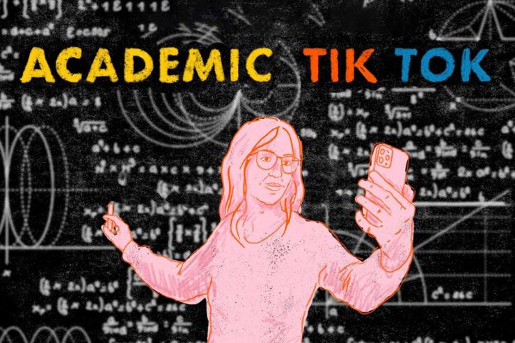 Academic TikTok job post cover