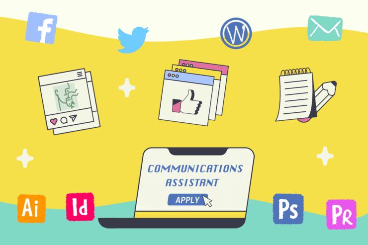 communication assistant job post
