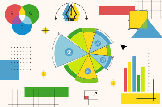 graphic design/data visualization job post image